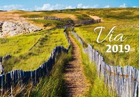 Via Wall Calendar 2019 by Helma