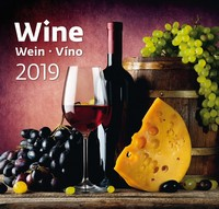 Wine Wall Calendar 2019 by Helma