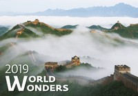World Wonders Wall Calendar 2019 by Helma