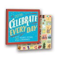 Celebrate Every Day Album Calendar 2019 by Orange Circle Studio