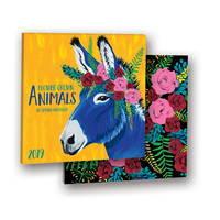 Flower Crown Animals Album Calendar 2019 by Orange Circle Studio