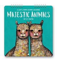 Majestic Animals Studio Redux Calendar 2019 by Orange Circle Studio