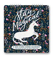 Stay Magical Studio Redux Calendar 2019 by Orange Circle Studio