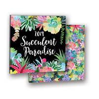 Succulent Paradise Album Calendar 2019 by Orange Circle Studio