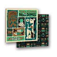 Tiki Flames n Hula Dames Album Calendar 2019 by Orange Circle Studio