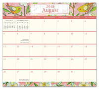 Where Love Grows Magnetic Monthly Pad 2019 by Orange Circle Studio
