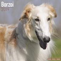 Borzoi Wall Calendar 2019 by Avonside