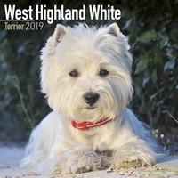 West Highland Terrier Wall Calendar 2019 by Avonside