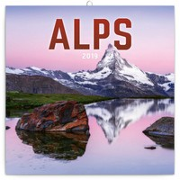 Alps Wall Calendar 2019 by Presco Group