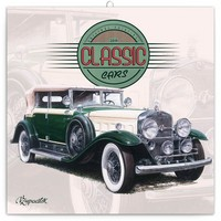 Classic Cars by Vaclav Zapadik Calendar 2019 by Presco Group