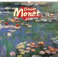 Claude Monet Wall Calendar 2019 by Presco Group