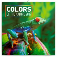 Colors of the Nature Wall Calendar 2019 by Presco Group