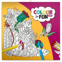 Colour for Fun Calendar 2019 by Presco Group