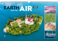 Earth from the Air Wall Calendar 2019 by Presco Group
