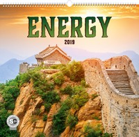 Energy Wall Calendar 2019 by Presco Group