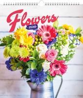Flowers Wall Calendar 2019 by Presco Group