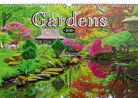 Gardens Poster Wall Calendar 2019 by Presco Group