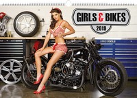 Girls & Bikes by Jim Gianatsis Calendar 2019 by Presco Group