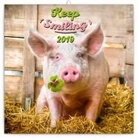 Keep Smiling Wall Calendar 2019 by Presco Group