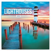 Lighthouses Wall Calendar 2019 by Presco Group