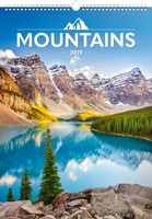 Mountains Wall Calendar 2019 by Presco Group
