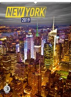 New York Wall Calendar 2019 by Presco Group