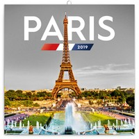 Paris Calendar 2019 by Presco Group