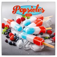 Popsicles Wall Calendar 2019 by Presco Group