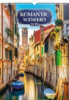 Romantic Sceneries Wall Calendar 2019 by Presco Group