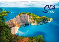 Sea Wall Calendar 2019 by Presco Group
