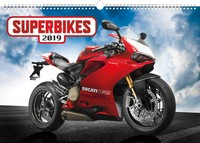 Superbikes Wall Calendar 2019 by Presco Group