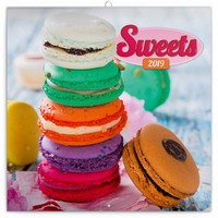 Sweets Wall Calendar 2019 by Presco Group