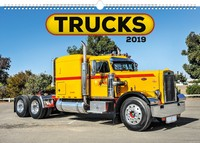 Trucks Wall Calendar 2019 by Presco Group