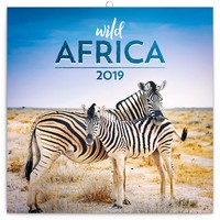 Wild Africa Wall Calendar 2019 by Presco Group